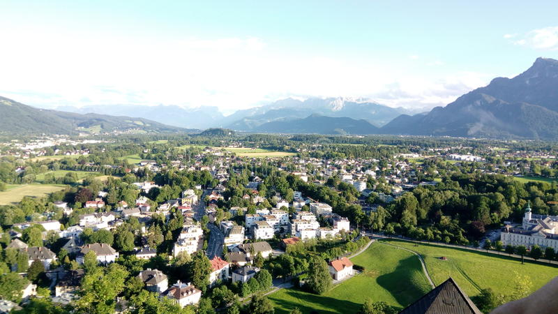 View from the fortress stock photography