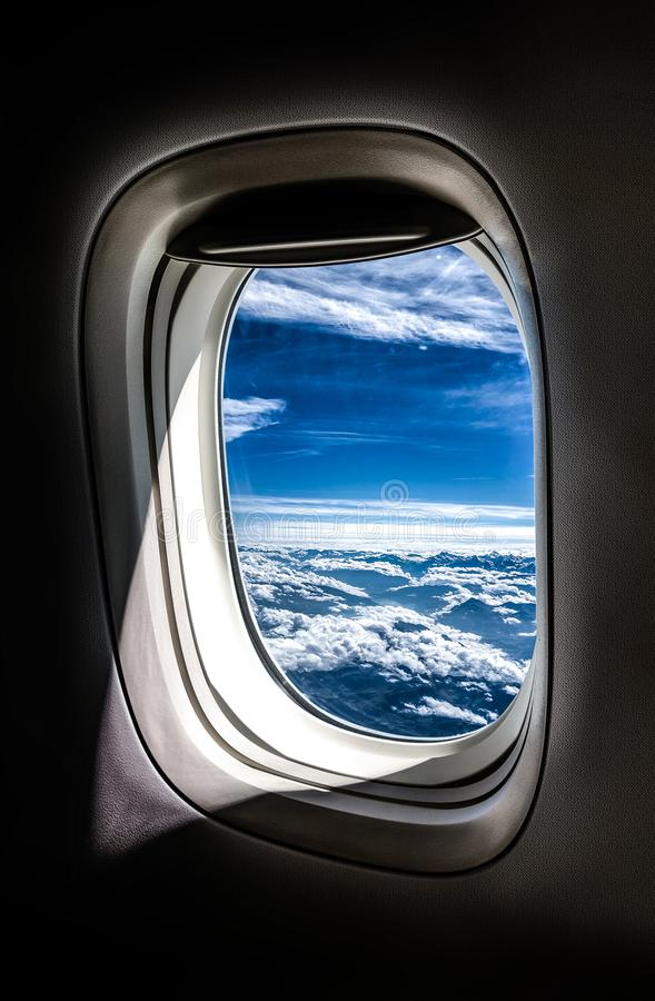 Free View From A Plane Window Stock Photos - 159768393