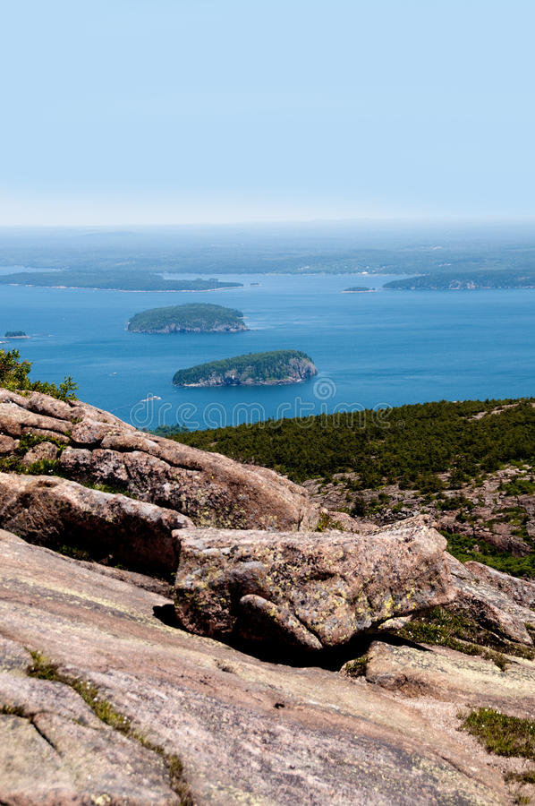 Free View From Acadia National Park In Maine, USA Royalty Free Stock Images - 15081059