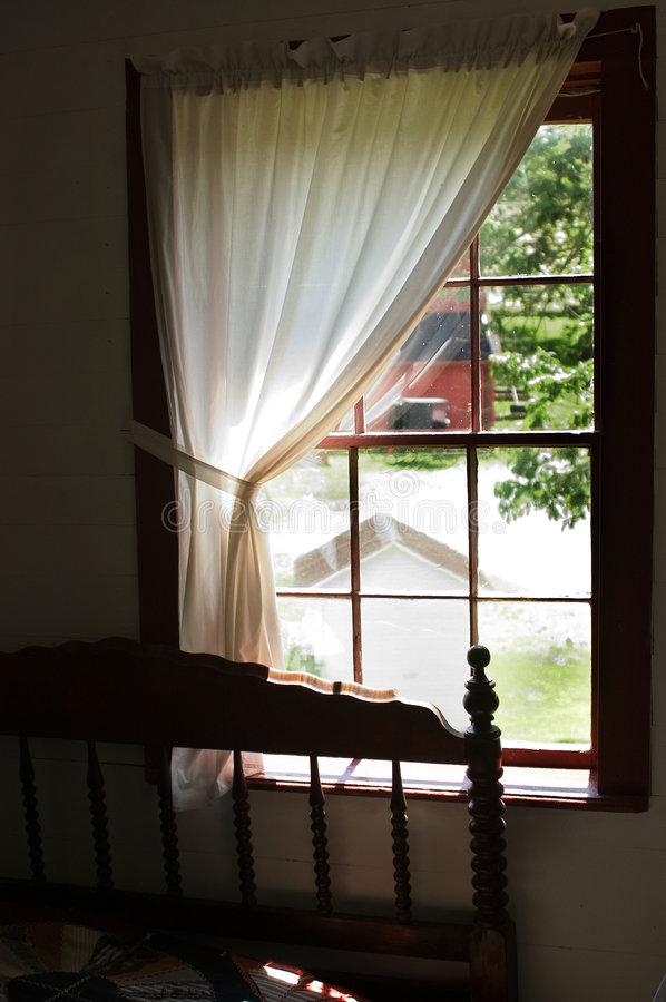Free View From An Amish Bedroom Window Stock Photos - 8853