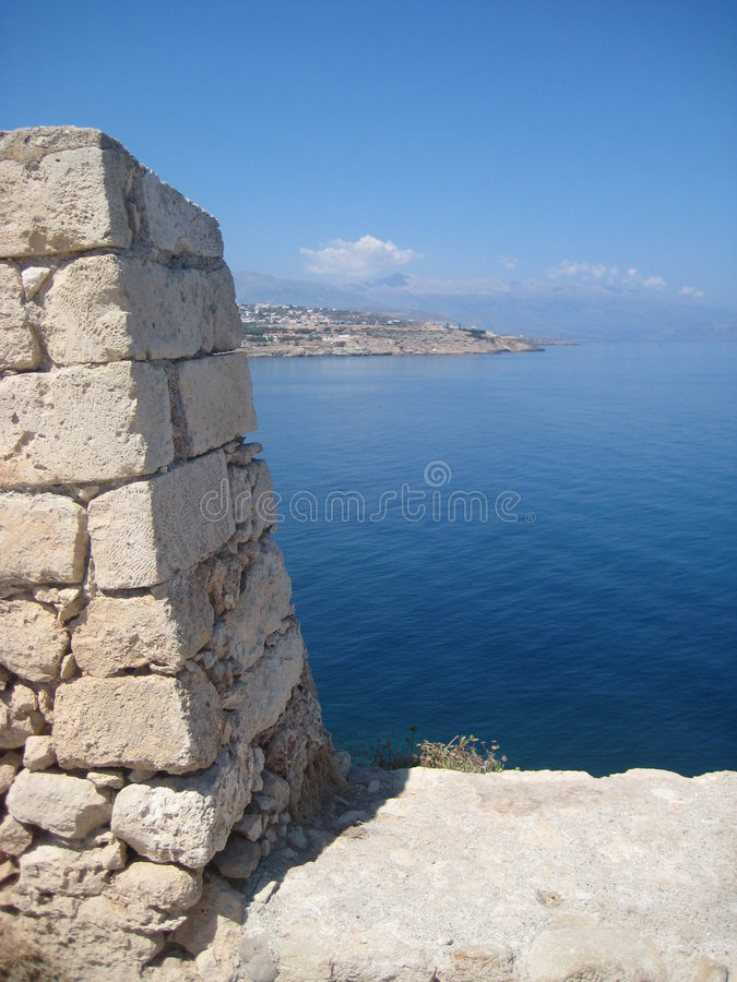 Free View From Fortezza, Rethymno Royalty Free Stock Photos - 6147028