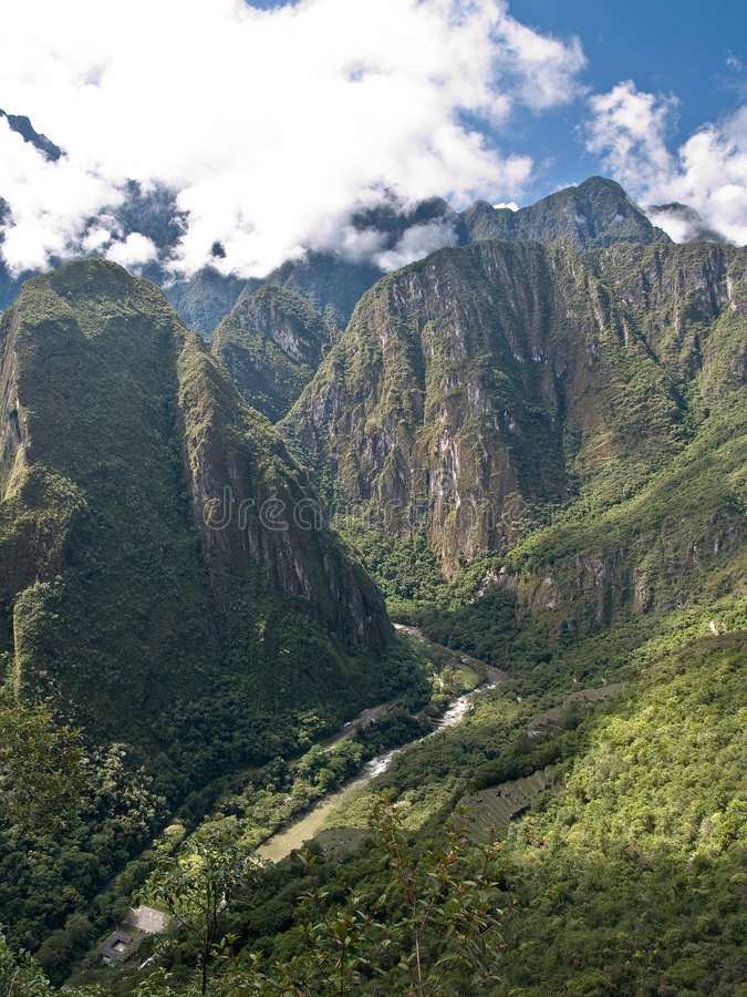 Free View From Machu Picchu (Peru) Stock Images - 3417704