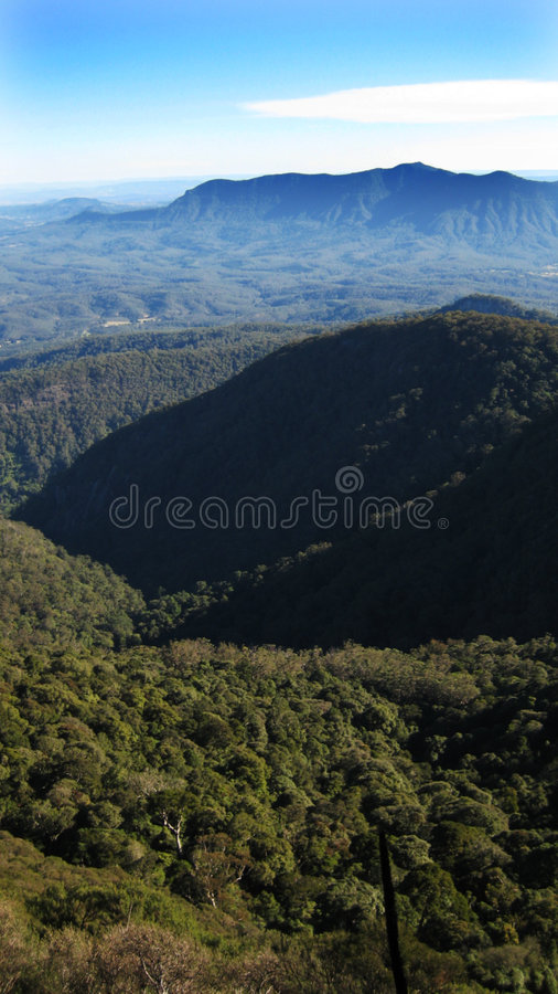 Free View From Mount Warning Stock Image - 2842001