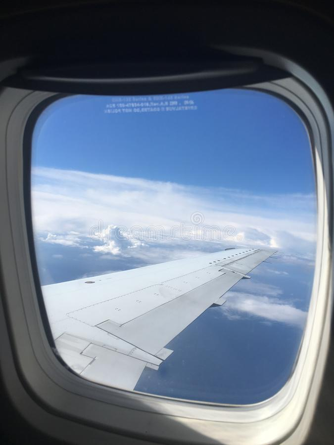 Free View From The Plane From The Window Royalty Free Stock Images - 164798059