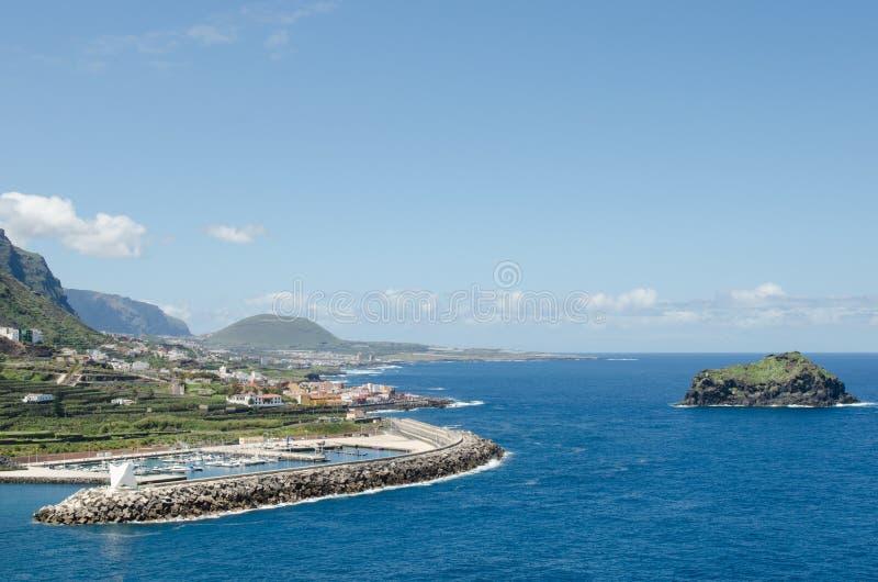 View of Garachico, Tenerife, Canary islands, Spain. royalty free stock photo
