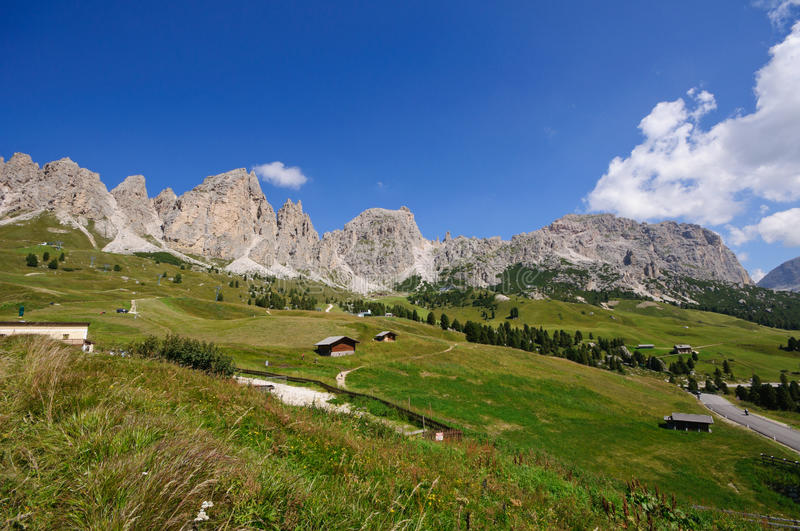 Download View From Gardena Pass - Dolomites, Italy Stock Photos - Image: 16771223