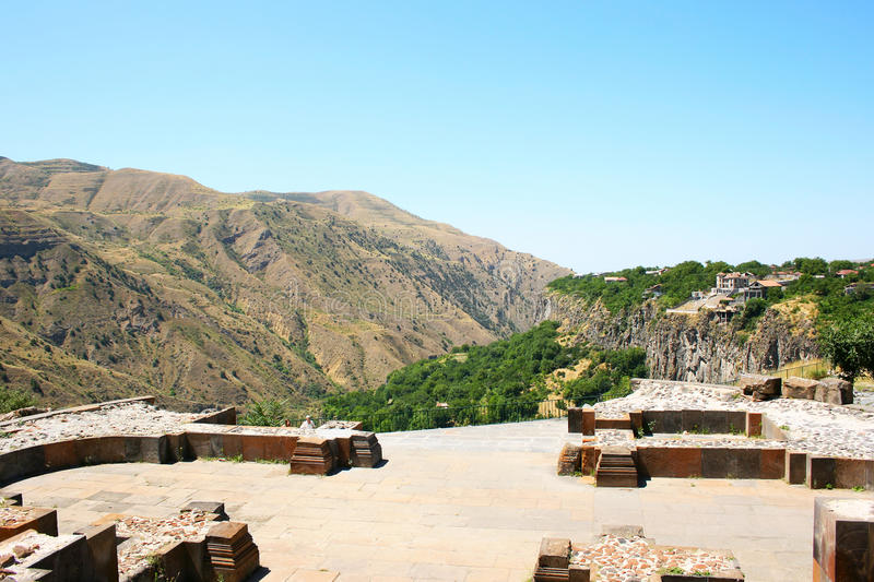 Download View from Garni temple stock image. Image of hellenism - 24587573