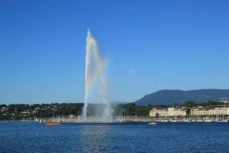 View of Geneva, Switzerland stock image
