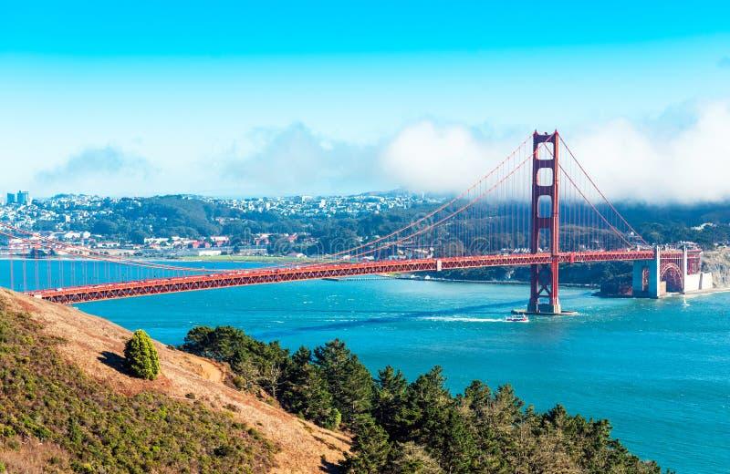 View of The Golden Gate Bridge in San Francisco, USA.  stock photo