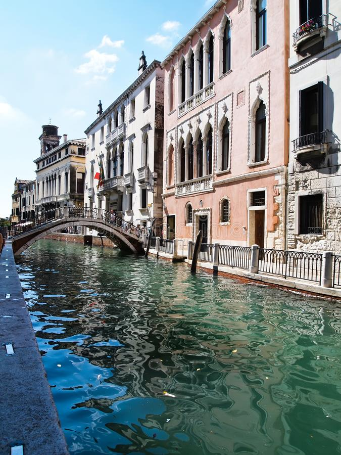 View of Grand Canal in Venice, Italy royalty free stock photos