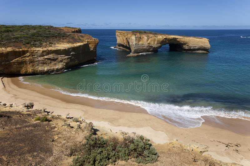View from the great ocean road royalty free stock photo