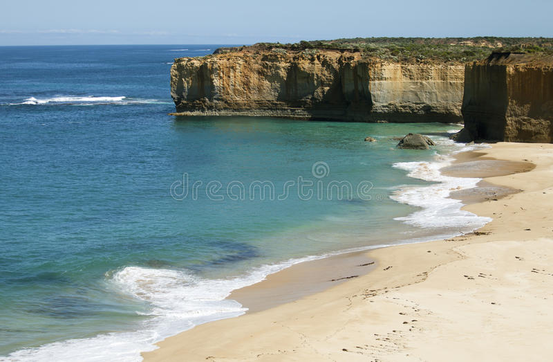 View from the great ocean road stock photography