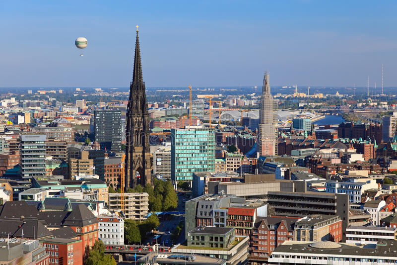 Download View On Hamburg Stock Image - Image: 16637671