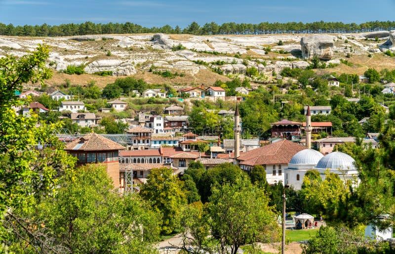 Hansaray, the Khan Palace in Bakhchysarai, Crimea royalty free stock photography