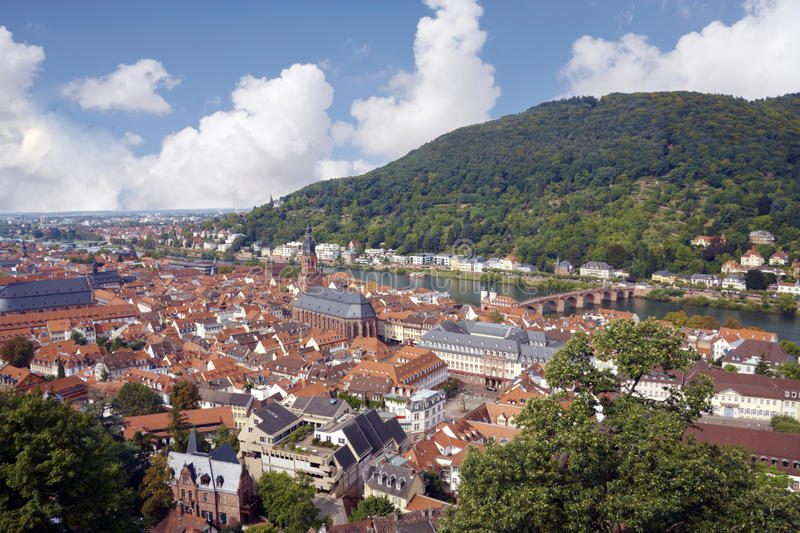 View of  heidelberg germany