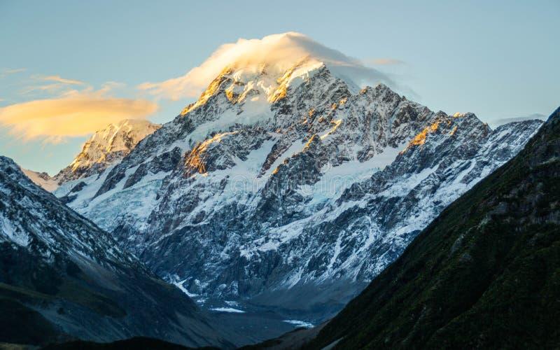 Aoraki/Mount Cook National Park, New Zealand stock images