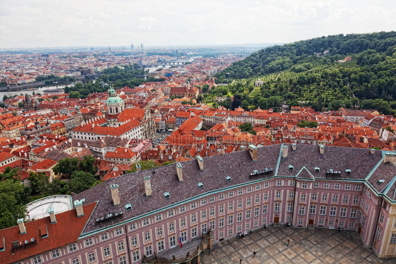 View Of The Historical Districts Of Prague Stock Photography