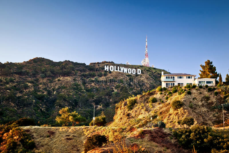 Download View Of Hollywood Sign In Los Angeles Editorial Image - Image: 23478525