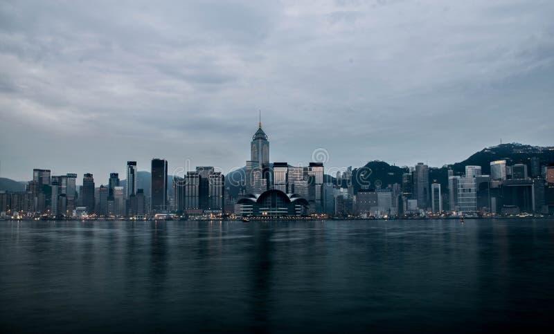 View of Hong Kong stock images