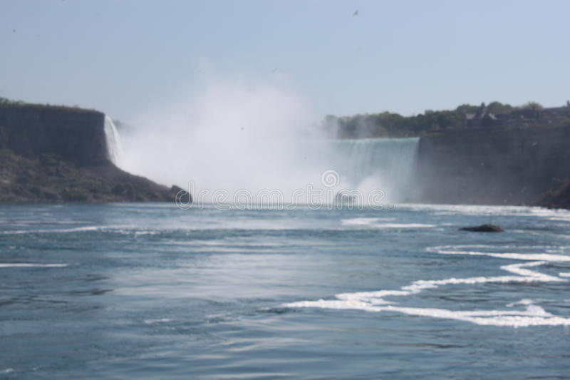 View of horseshoe falls royalty free stock photography