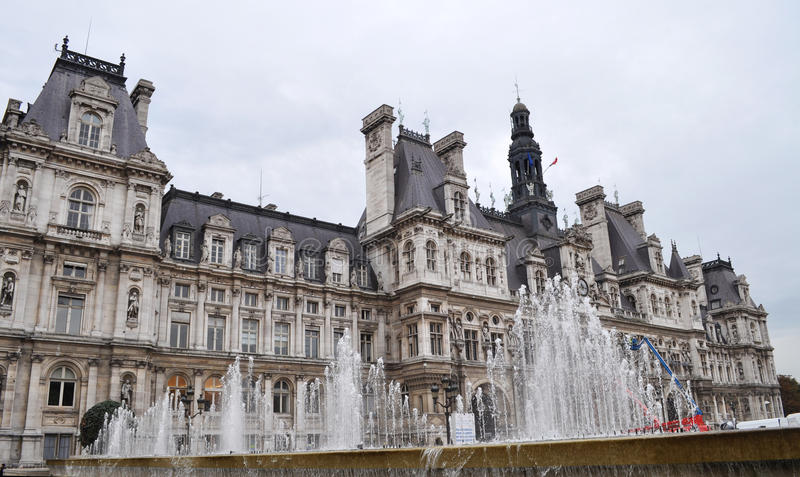 View Of Hotel De Ville Royalty Free Stock Photo
