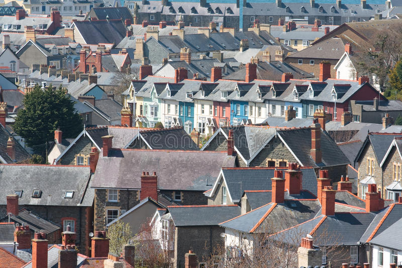 View of houses royalty free stock photos