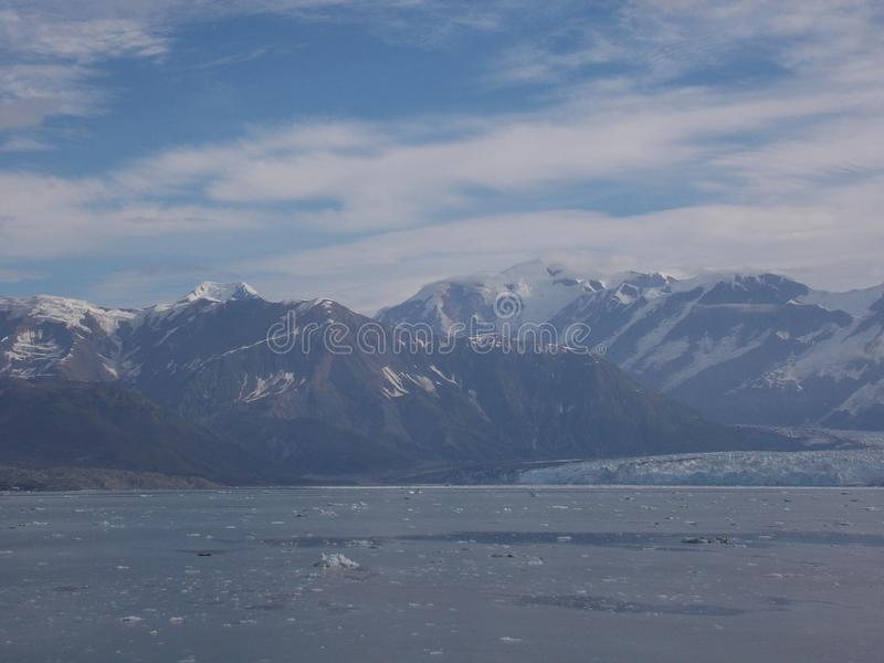 View of Hubbard Glacier royalty free stock photography