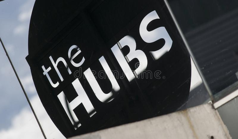 A view of the Hubs Student Union venue in Sheffield. Sheffield, South Yorkshire, UK - 13th September 2013 stock image