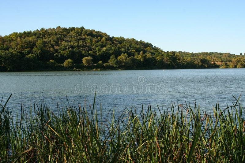 View of Indian Lake. Beautiful picture of Indian Lake I shot while out hiking the area in southern Wisconsin royalty free stock images