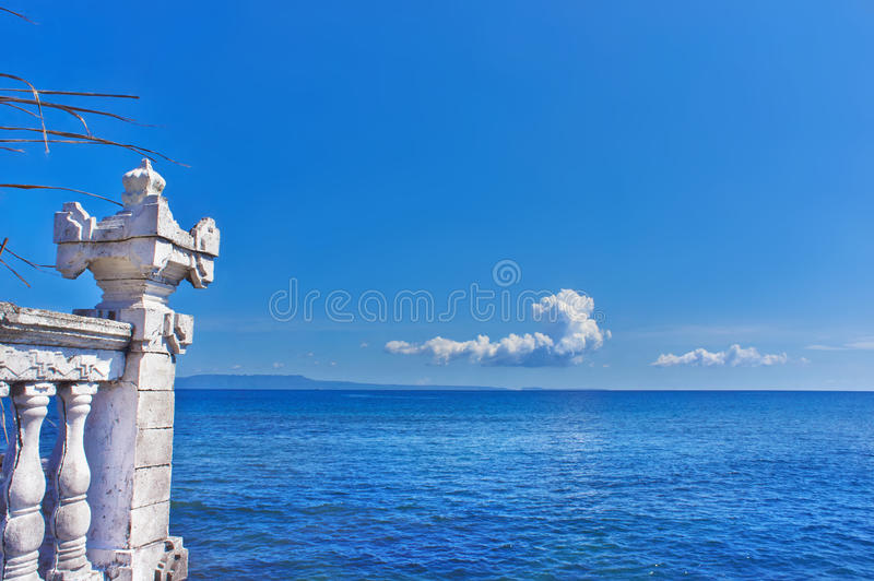 View of Indian Ocean. royalty free stock images