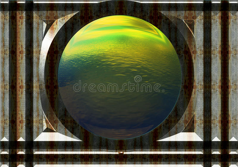 View From The Inside Stock Photography