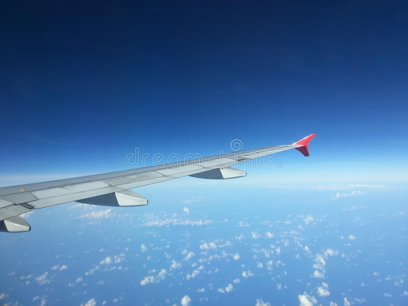 Download View From Inside An Airplane Royalty Free Stock Images - Image: 37444599