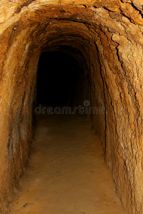 View inside cave royalty free stock photo