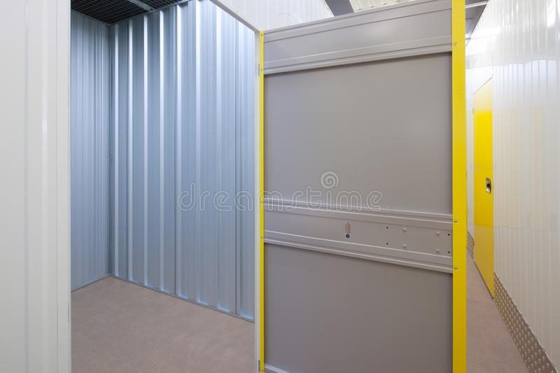 Self storage unit royalty free stock photos