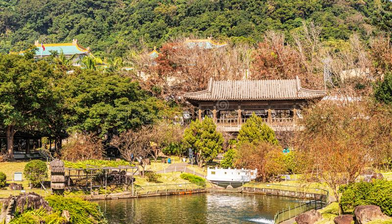 Indigenous People`s Park in Taipei, Taiwan. View at the interior of Indigenous People`s Park located just beside National Palace museum in Taipei, Taiwan royalty free stock photography