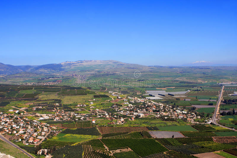 View of Israel stock images