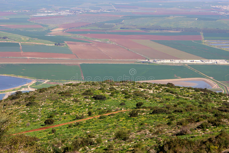 Download View on Israel valley stock photo. Image of hill, panoramic - 87293542