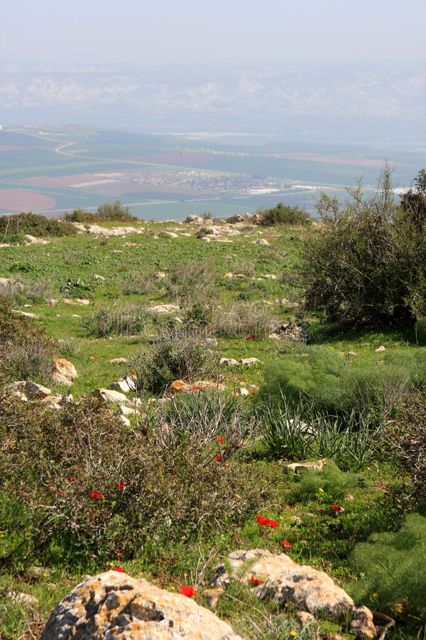 Download View on Israel valley stock image. Image of landscape - 87296115