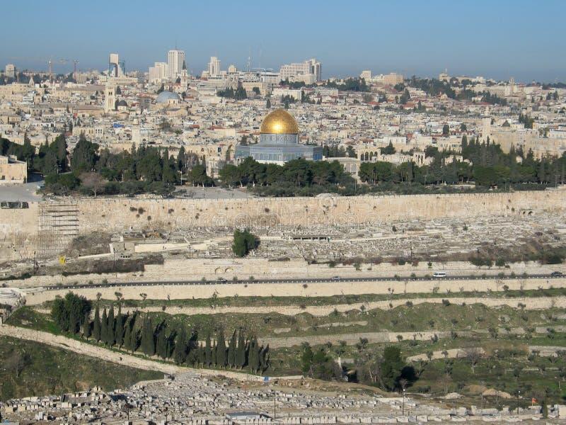 View of Jerusalem stock photos