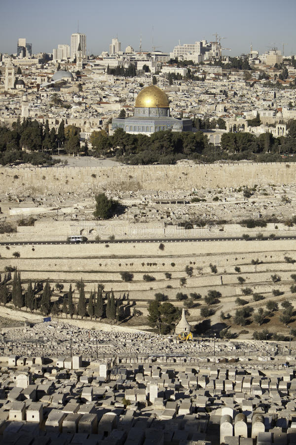View Of Jerusalem Stock Photography