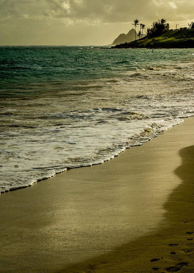 View Of Kailua Beach Royalty Free Stock Photography