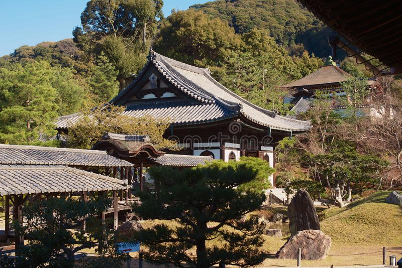 Kodaiji Temple, Kyoto, Japan stock photography
