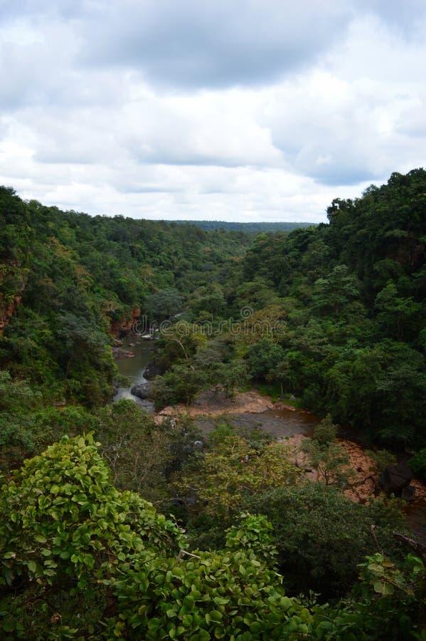 View of Kanger valley national Park. Jagdalpur, bastar royalty free stock photo