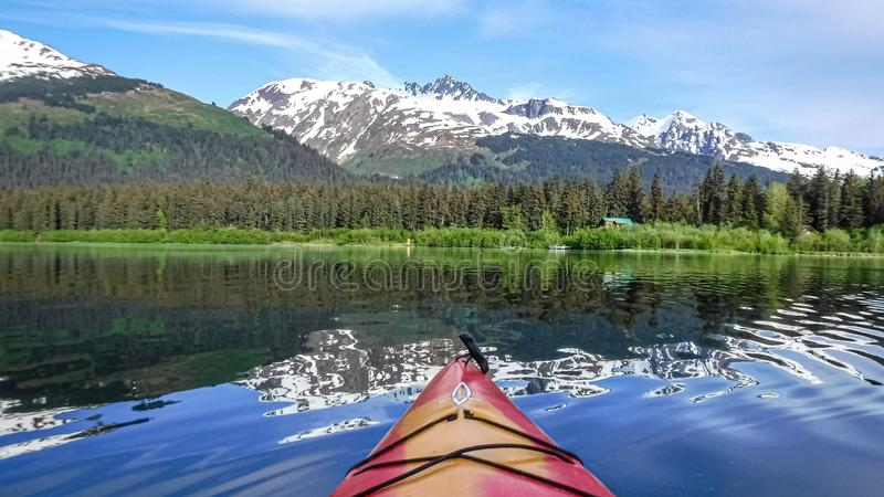 View From a Kayak royalty free stock photography