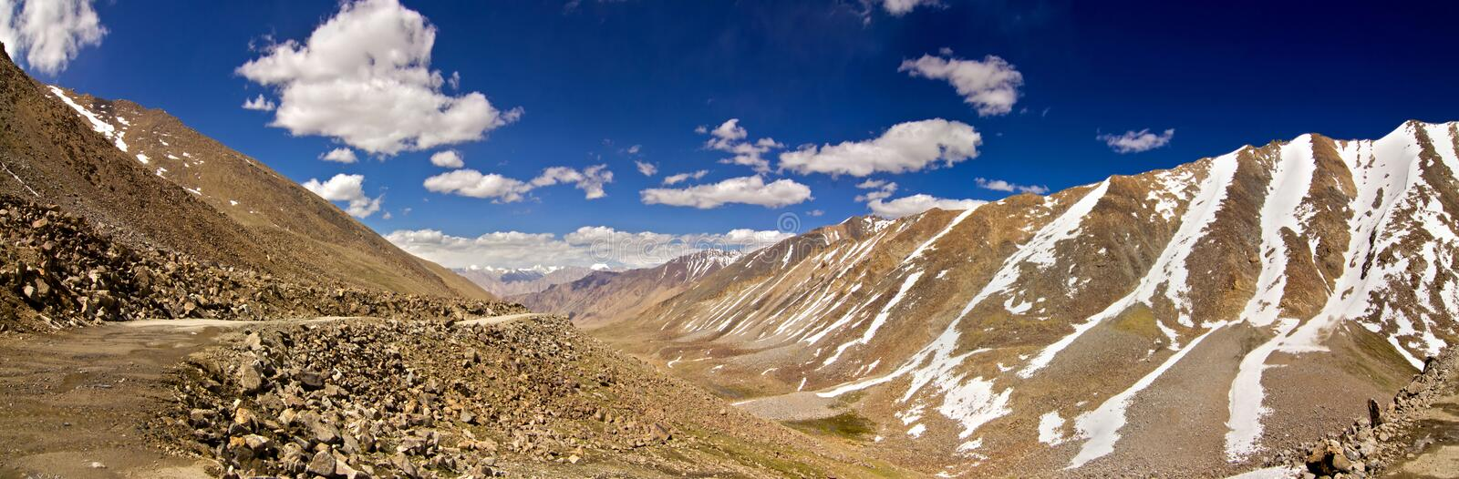 Download View From Khardungla, Ladakh Stock Image - Image: 20629101
