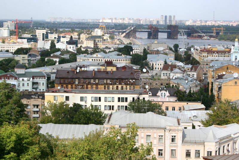 View on Kiev stock photo