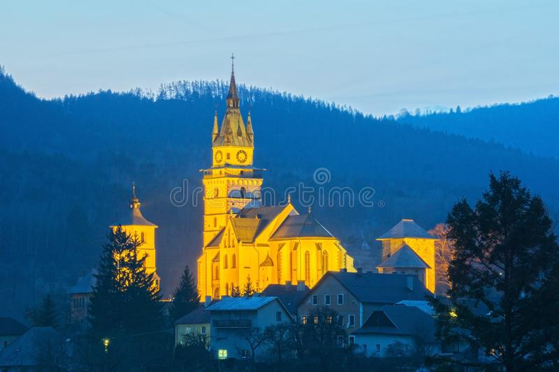 Kremnica castle royalty free stock photo