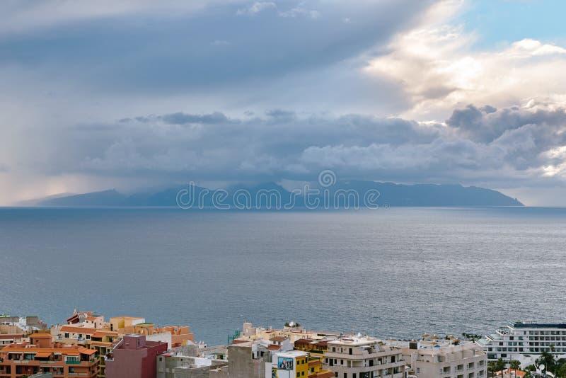 View of La Gomera Island royalty free stock photos