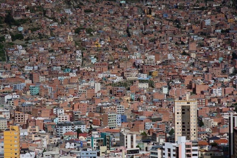 View of La Paz stock images