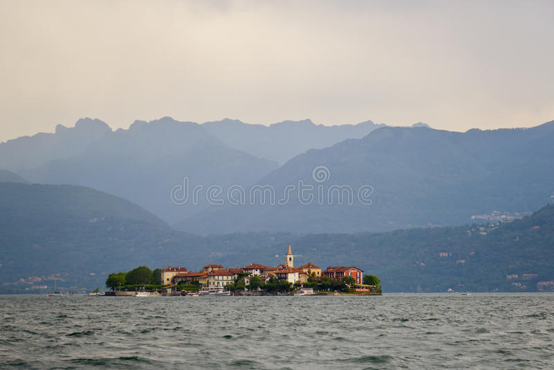 View of Lago Maggiore, Italy royalty free stock photography